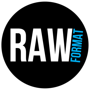 Raw format sticker